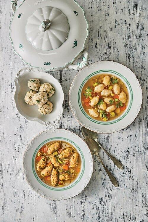 Knedlíčky do polévky