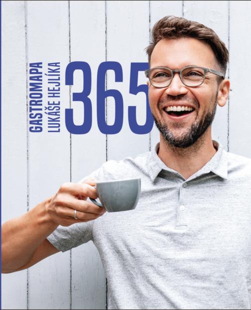 Lukáš Hejlík, herec, gastronaut, autor knihy 365 Gastromapa LH