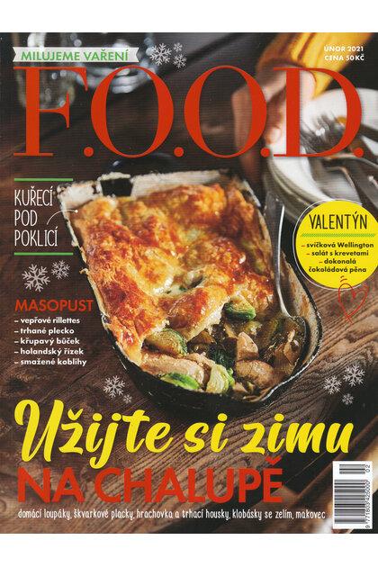 Domov, to je knedlík. časopis Food únor 2021, strany 90 až 95